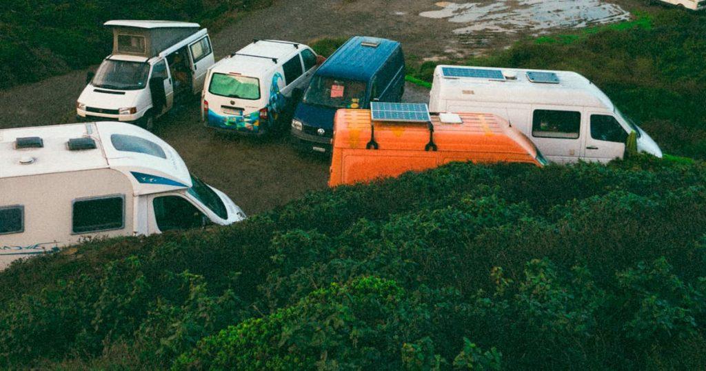 Dónde dormir con una autocaravana al aire libre